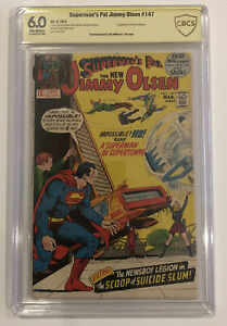 Superman's Pal Jimmy Olsen #148 CBCS 6.0 signed by JOE SIMON - not CGC not SS