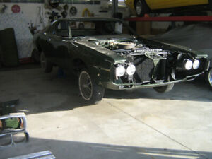 1973 Charger SE Brougham almost finished project.