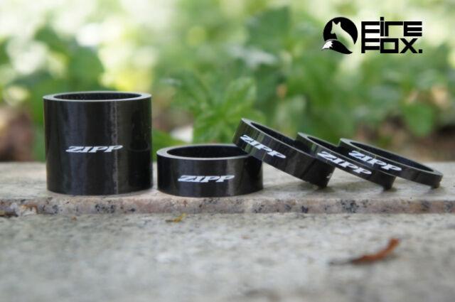 Zipp Headset Spacer Set 4mm x 2, 8mm x 1, 12mm x1, 30mm x 1 UD Carbon