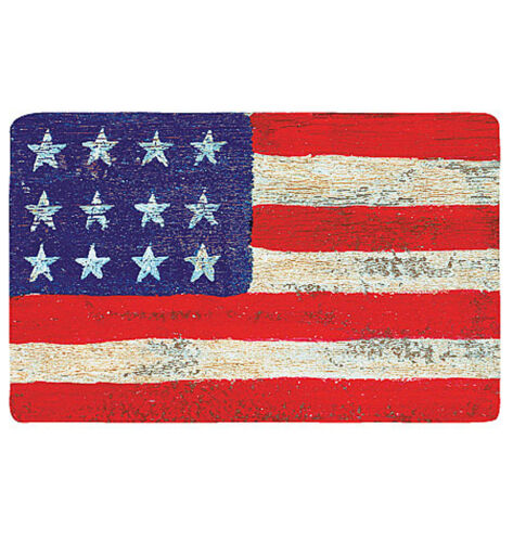 25 US Flag Wallies Decals American July 4th USA Flags Decals Stickers Decorate