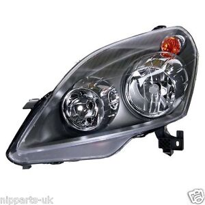 VAUXHALL-ZAFIRA-2005-2008-HEADLIGHT-HEADLAMP-LH-LEFT-PASSENGER-SIDE-NEAR-N-S