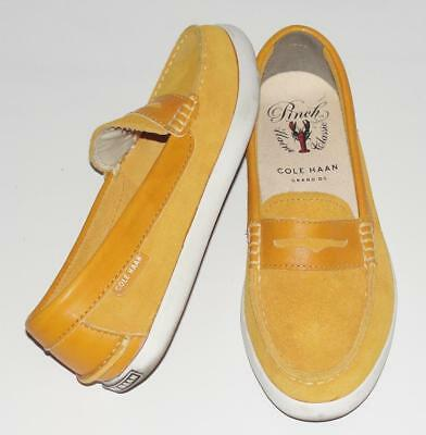 COLE HAAN Grand OS~SUEDE *PINCH MARINE CLASSICS* SLIP-ON BOAT SHOES LOAFERS~5B