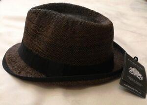 58 59cm Large Brown Hat Failsworth Panama Size wX177q