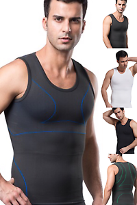 d54219a2896b41 Mens Best Slimming Body Shaper Vest Tank Top Undergarment for Man ...