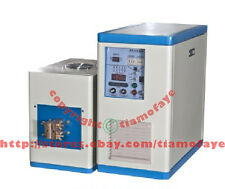 20KW 50-250KHz Ultra HIGH Frequency Induction Heater Melter Dual Statation