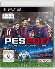 PS3 PES 2017 Pro Evolution Soccer 17 Fußball Spiel NEU