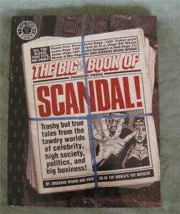 BIG-BOOK-OF-SCANDAL-sc-1997-1st-Jim-Baker-Faye-OJ-Elvis-NM