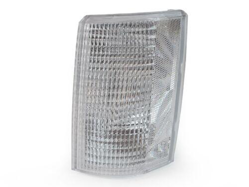 Right 85-94 Chevy Astro Van GMC Safari Euro Clear Corner Signal Lights Left