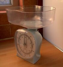 Salter LIGHT BLUE KITCHEN SCALES, shabby chic, retro style