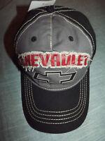 Men's Chevrolet Black & Gray Baseball Cap