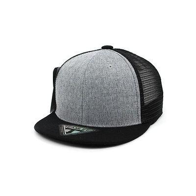 52~54Cm Panda Baby Children Kids Boys Girls Baseball Cap Snapback Hats Gray