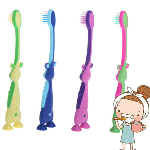 Baby Soft-bristled Toothbrush Children/'s Teeth Training Dental Care Oral Care