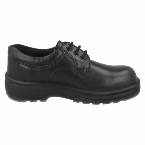 Totectors 1010 Safety Plain Front Gibson Black Shoe R13A