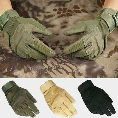 Motorcycle Tactical Gloves Army Full Finger Airsoft Combat Tactical Glove Winter