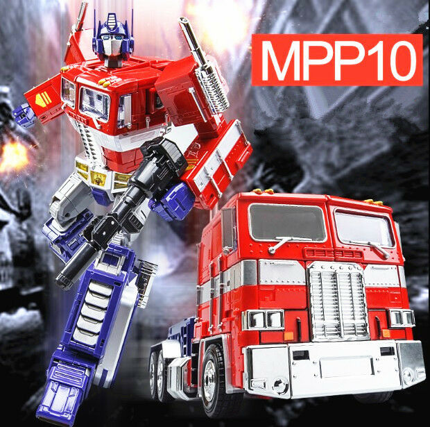 Transformers MPP10 G1 Optimus Prime Toy Action Figure Doll New
