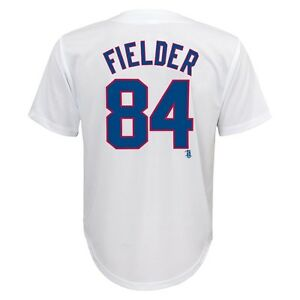 the best attitude 3cf06 50ed0 Details about (NEW/NWT) Texas Rangers PRINCE FIELDER mlb Jersey YOUTH KIDS  BOYS (s-sm-small)