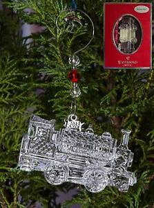 2013 Waterford Crystal TRAIN Christmas Ornament New in Box ...