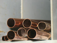 3/4 Copper Pipe Type M 2 Pcs 24 Long