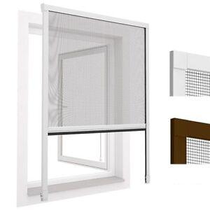 insektenschutz alu rollo fenster fliegengitter m ckenschutz insektenschutzrollo ebay. Black Bedroom Furniture Sets. Home Design Ideas