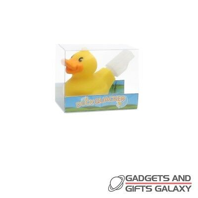 NV212  BLOW TO QUACK LIKE A DUCK FUN CHILDRENS TOY DUCK QUACKER WHISTLE