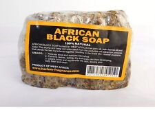 1 lb Natural Raw African Black Soap, Organic, Unrefined from GHANA west Africa