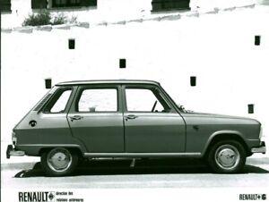 Photo De Presse Ancienne Voiture Automobile Renault 6 Ebay