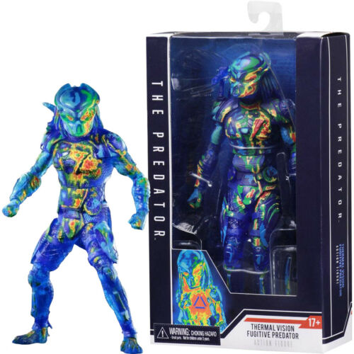 "The Predator Thermal Vision Fugitive Predator 7"" Action Figure 2018"