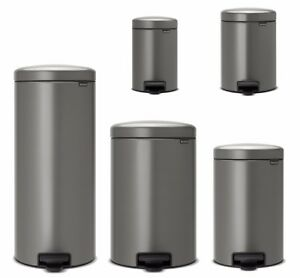 brabantia newicon treteimer m lleimer 3 30 liter in platinum nachhaltig ebay. Black Bedroom Furniture Sets. Home Design Ideas