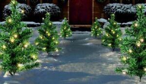Set-di-6-DECORATIVA-FATA-Pathway-Luci-LED-Natale-Alberi-di-Natale-90-LED