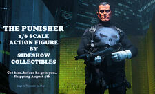 "2016 Marvel Comics THE PUNISHER 12"" 1/6 Sixth Scale Action Figure SIDESHOW TOYS"