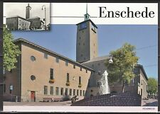 Voorgefrankeerde ansichtkaart Enschede Stadhuis - Postcard