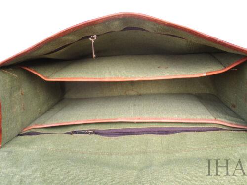 Fashionable Vintage Real Leather Messenger Laptop Briefcase Satchel Bag Handmade