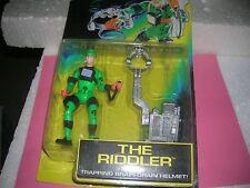 1995 RIDDLER TRAPPING BRAIN-BATMAN FOREVER-DRAIN HELMET-DC COMICS-KENNER NIP