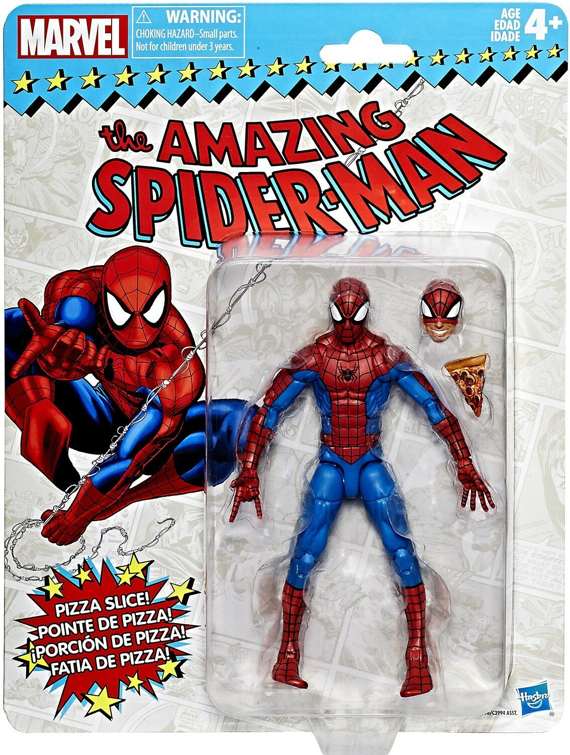 Marvel - legenden vintage (retro - serie  spider - man  action - figur