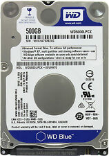 WD Blue Laptop Notebook HDD WD5000LPCX 500GB 5400 RPM SATA 2.5 Hard Disk Drive