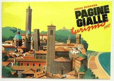 Cartolina Pagine Gialle Turismo 1990 - Emilia Romagna | eBay