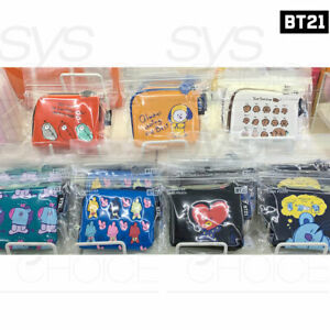 BTS-BT21-Official-Authentic-Goods-Card-Pouch-11-5x-9-5cm-4-5x3-7in-7Characters