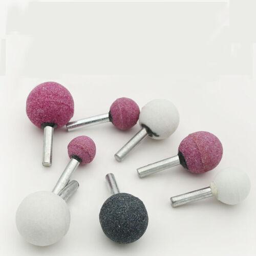 Neu 10x Schleifmittel Montiert Stein für Zubehör Schleifstein Rad Kopf 16-30mm