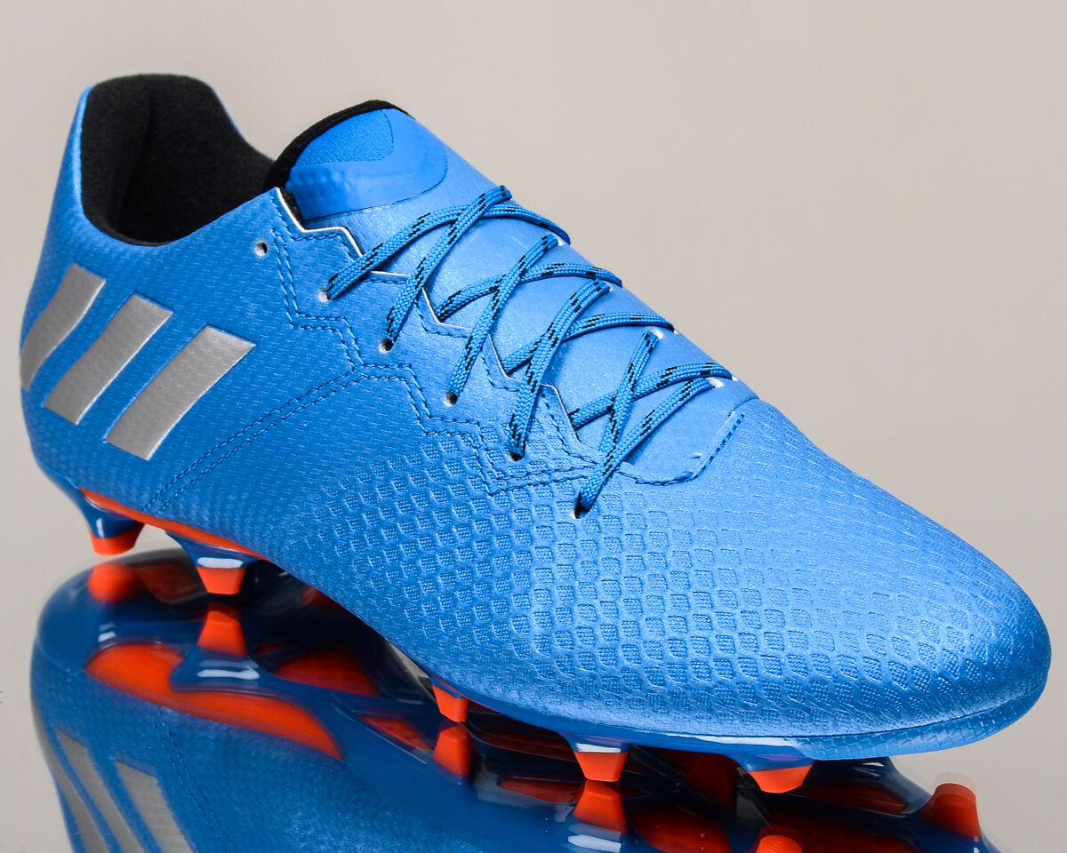Adidas Messi 16.3 FG men soccer cleats football NEW bluee silver S79632