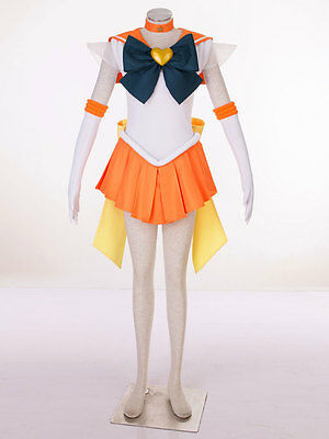 Cosplay Sailor moon sailor venus Aino Minako Super S Kleider Costumes Kostüm