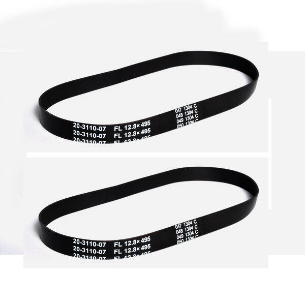 5 Eureka 61110C 20-3110-07 Type R Ultra Smart Vacuum Non Stretch Flat Belts