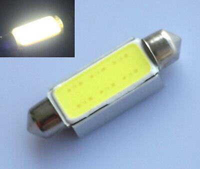 4x Festoon CAN BUS 42mm C10W PLASMA COB LED SIZE interior WHITE SMD bulbs