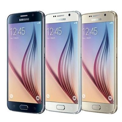 Samsung Galaxy S6 SM-G920T 32GB Black/White/Gold/Blue (T-Mobile) Unlocked USA