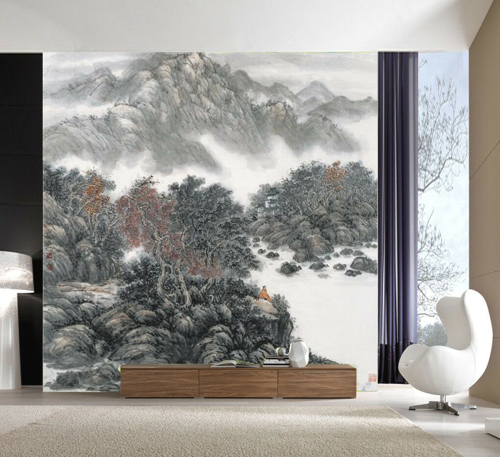 3D Scenery Painting 72 Wall Paper Murals Wall Print Wall Wallpaper Mural AU Kyra