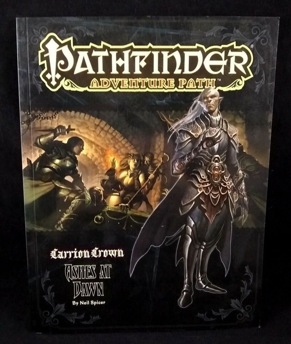Pathfinder Adventure Path Carrion Crown Ashes at Dawn Paizo Excellent RPG