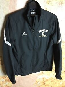 34ab4c1386134 Vintage Adidas Tracksuit Top Women s Small USA College Volleyball ...