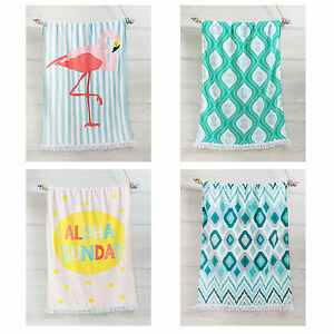 Image Is Loading 100 Cotton Beach Towels Extra Large 86cm X