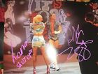 WWE Dolph Ziggler And Lana SIGNED AUTOGRAPHED 8X10 PHOTO Wrestling Auto