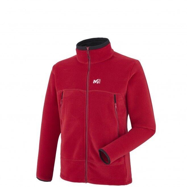 Millet Great Alps Jacket men, cálida Pinewood para caballeros, Deep rojo