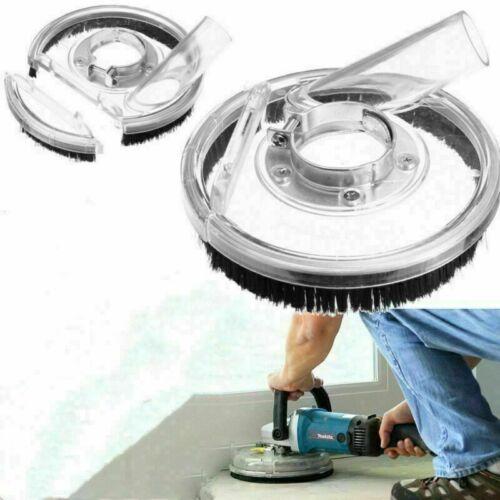 Absaughaube Mit Bürstenkranz Staubschutz Für Winkelschleifer Betonschleifer NEU